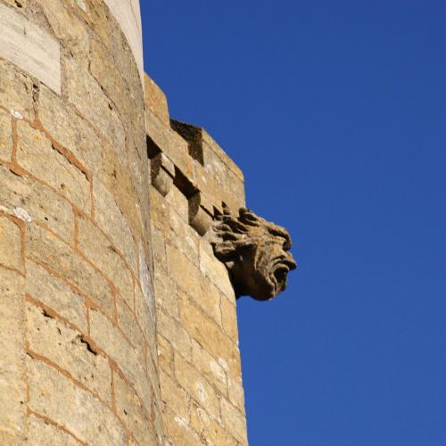 Gargoyle at Broadway Tower