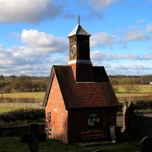 Gatehouse at Wilden Church