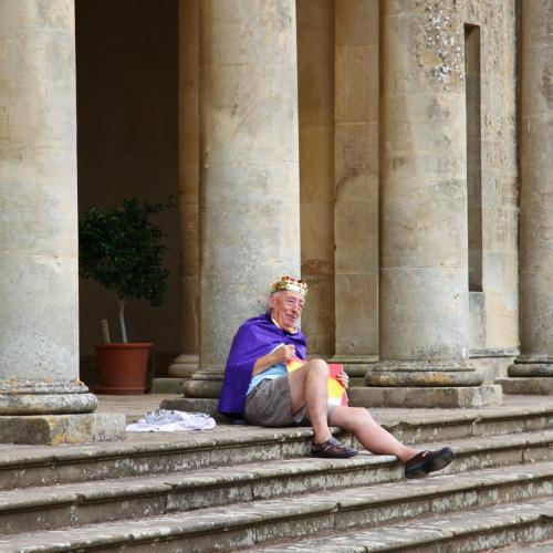 Royalty at Croome Park