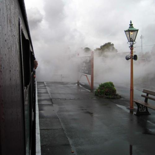 Steam up at Kidderminster SVR