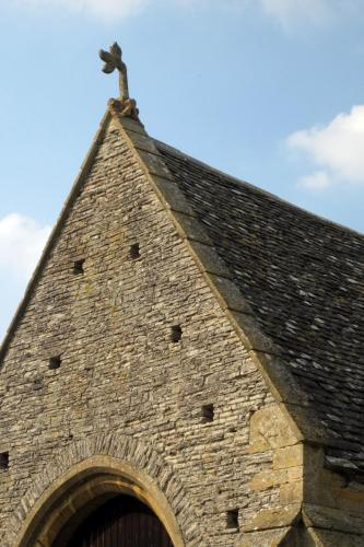 Tythe Barn Finial at Middle Littleton